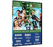 Family Movie Marathon 12-Film Collection Three-Disc DVD Set - E264241