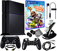 Sony PS4 500GB System with Little Big Planet 3& Accessories - E283041