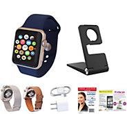 Apple Watch Series 2 42mm with 2-Yr Tech Support & Extra Band - E290541