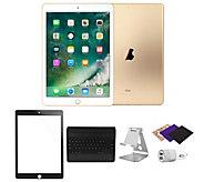 Apple iPad Mini 4 128GB Wi-Fi with Bluetooth Keyboard & More - E292441
