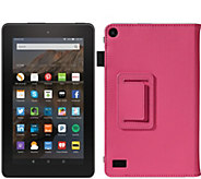Amazon 7 Fire Wi-Fi 8GB Tablet with Folio Case & 8GB SD Card - E229142