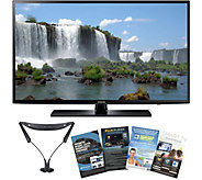 Samsung 40 Class LED Smart HDTV with Wireless Headphones,Apps - E230342