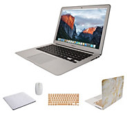 Apple MacBook Air 13 Laptop w/ Clip Case, Wireless Mouse And Accessories - E232042