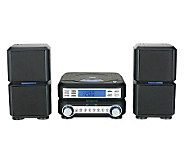 Naxa Digital CD Micro System with AM/FM StereoRadio - E272242