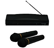 Quantum Twin Pack Wireless Microphone System - E272542