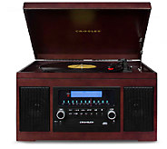 Crosley Cannon 3-Speed CD-Recording Entertainment System - E283242