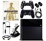 Sony PS4 Uncharted Bundle with 7-in-1 AccessoryKit - E287042