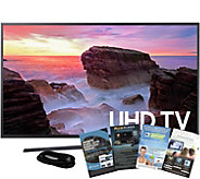 Samsung 50 LED Smart UHDTV with HDMI Cableand App Pack - E291242