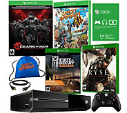 Xbox One 500GB Gears of War Bundle with 3 Games & Accs. - E229643