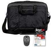 15 Signature Carry Bag with Wireless Mouse and 3 Years Gadget Trak - E230243