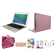 Apple Macbook Air 13 with Fitted Clip Case, 3in1 Bag & Software - E230443