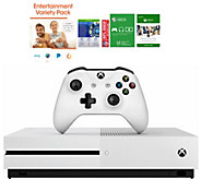 Xbox One S 500GB with 3 Months of Xbox Game Pass and App Pack - E231643