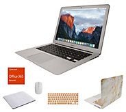 Apple MacBook Air 13 Laptop w/ Clip Case, MS Office 365 And Accessories - E232043