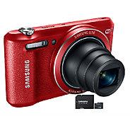 Samsung WB35F 16MP Digital Camera with 8GB microSD Card - E280543