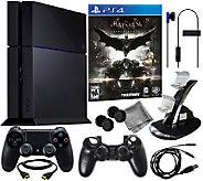 Sony PS4 500GB System w/ Batman: Arkham Knight& Accessories - E283043