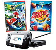 Wii U Mario Kart 8 Deluxe Set with Game Party Champions - E286843