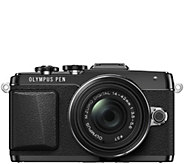 Olympus E-PL7 Mirrorless Digital Camera with 14 -42mm II R Len - E288343