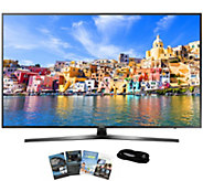 Samsung 40 Smart LED Ultra HDTV with App Packand HDMI Cable - E289243