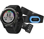 Garmin Fenix 5 47 Multisport Watch Sapphire Edition Performer - E293943