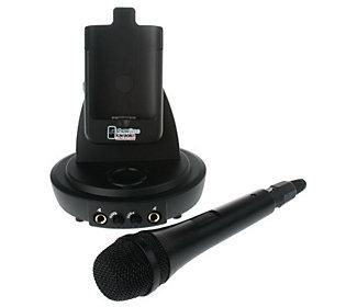 Showtime Karaoke iPod Dock with Microphone