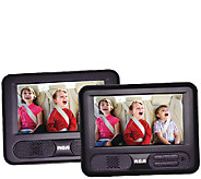 RCA 7 Mobile DVD Player with Additional 7 Screen - E283544