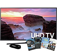 Samsung 55 LED Smart Ultra HD TV with HDMI Cable and App Pac - E291244