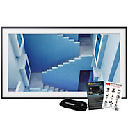 Samsung The Frame 55 Class Smart 4K Ultra HDTV& HDMI Cable - E292744
