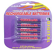 Lenmar PRO1010 AAA NiMH Rechargeable Batteries-10-Pack - E177245