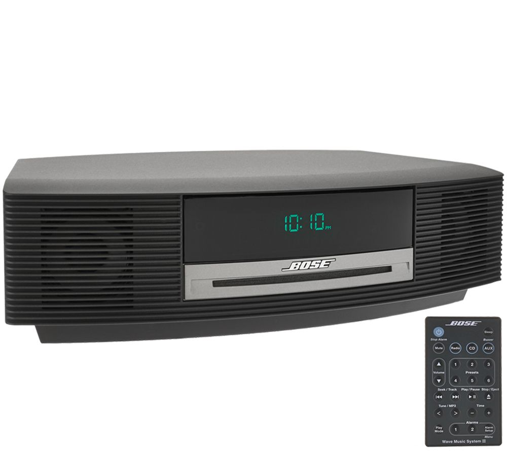 Bose Wave Music System III w/ CD, Dual Alarm & Touch Top Control - E227945