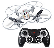 Zero Gravity X1 R/C Quadcopter Indoor/Outdoor w/Photo & Video Camera & Remote - E228445