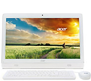Acer 20 All-in-One PC Intel Quad Core 4GB RAM 500GB Lifetime Tech - E229745