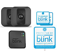 Blink XT 2 Pack Wire-Free HD Indoor/Outdoor Security Cams w/ Night Vision - E231045