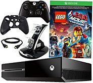 Xbox One 500GB Lego Movie Game Bundle with Accessory Pack - E286445