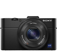 Sony Cyber-shot DSC-RX100 II 20.2 MP DigitalCamera - E288345