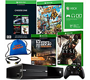 Xbox One 500GB Name Your Game Bundle w/ 4 Games & Accs. - E229646