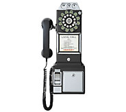 Crosley 1950s 3-Slot Style Pay Phone - E283246