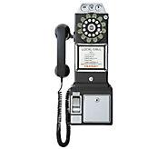 Crosley 1950s 3-Slot Style Pay Phone - E283246