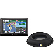 Garmin Nuvi 55 GPS with GPS Dash Mount - E283846