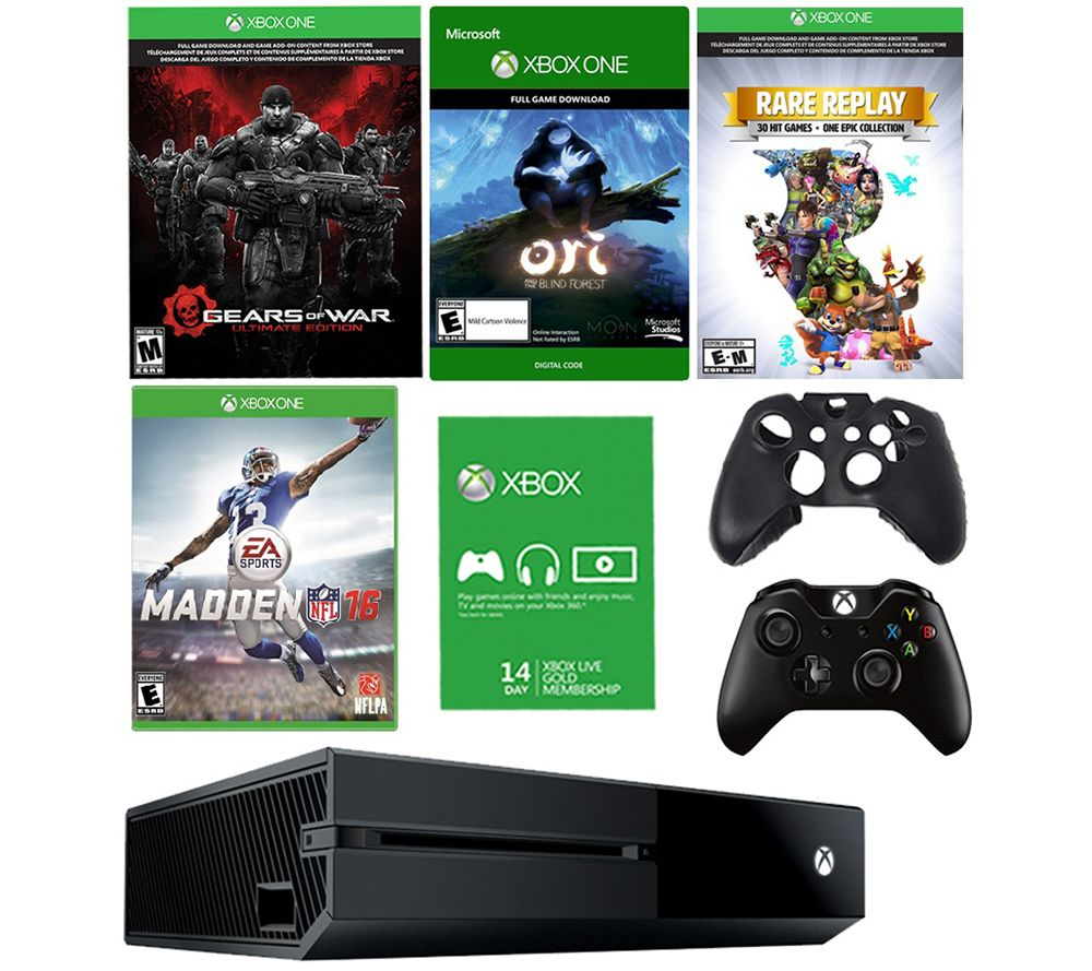 Xbox One 1TB Bundle with Madden 16 and 3 Additional Games - E285246