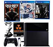 Shps 8/23 Sony PS4 500GB Black Ops III Bundle w/ Madden NFL 17 - E289546