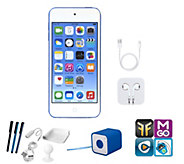 Apple iPod Touch 16GB with Bluetooth Speaker, App Pack & Accs - E289646