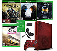Xbox One S 2TB LE Gears of War 4 Console Bundle - E289946