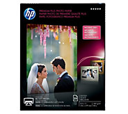 HP Premium Plus Photo Paper, Glossy, A, 8.5 x11 -25 ct - E290246