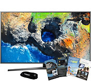 Samsung 55 Smart 4K HDR Pro TV with HDMI Cableand App Pack - E291246