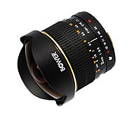 Bower 8mm F3.5 Ultra-Wide Fisheye Lens for SonyDigital SLR - E209947