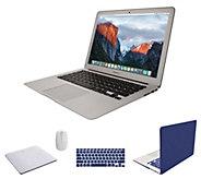 Apple MacBook Air 13 Laptop w/ Clip Case, Accessories & Office Option - E232047