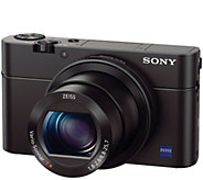 Sony Cyber-shot RX100 III 20.1MP DigitalCamera - E288347