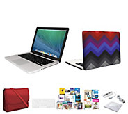 Apple Macbook Pro 13.3, Core i5 w/ Clip Case 3in1 Bag & Software - E230348