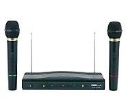 Naxa NAM-984 Professional Dual Wireless Microphone System - E248648