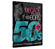 The Decade You Were Born - 1950s DVD - E264948